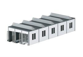 Bausatz E-Lokschuppen Mannheim