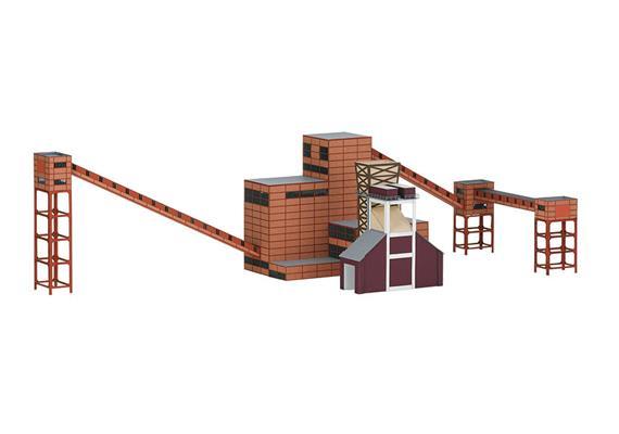 Bausatz Zeche Zollverein Kokerei Teil 2