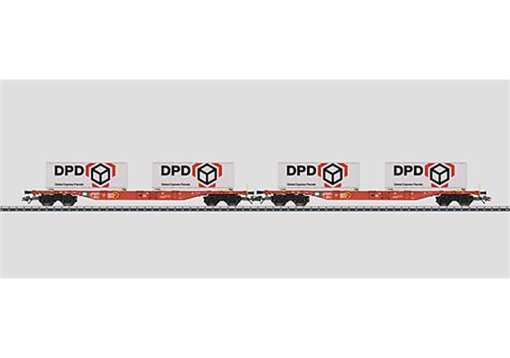 DB AG Containerwagen Set DPD