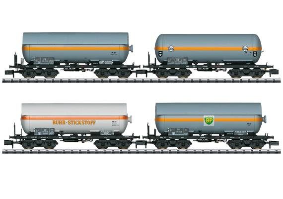 DB Druckgaskesselwagen Set