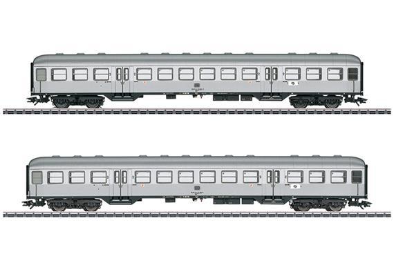 DB Personenwagen Silberlinge Set
