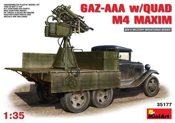 GAZ-AAA w/Quad M4