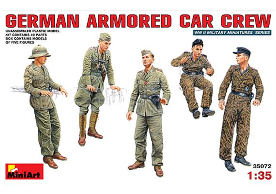 German Armoured Car Crew