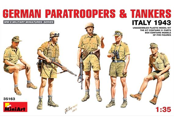 German Partroopers & Tankers