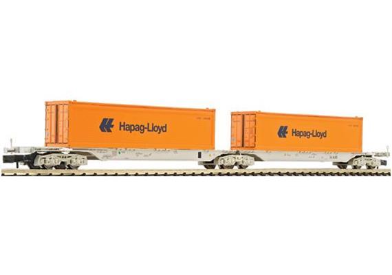 ÖBB Containerwagen Hapag-Lloyd