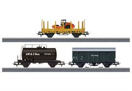 "Start Up Güterwagen-Set ""Baustelle"""