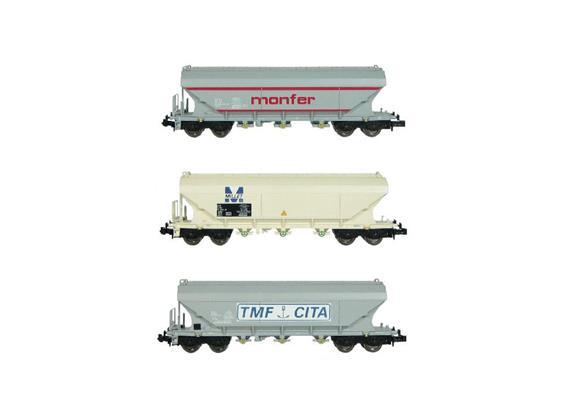 Wagen-Set 3 Teilig Getreidetransport