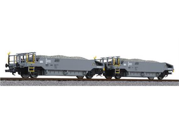 BLS Schotterwagen Set
