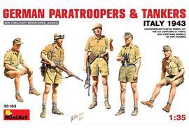 German Partroopers & Tankers