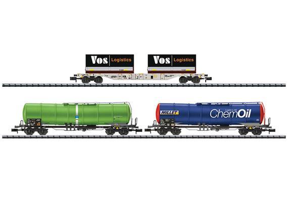 Gütertransportwagen Set