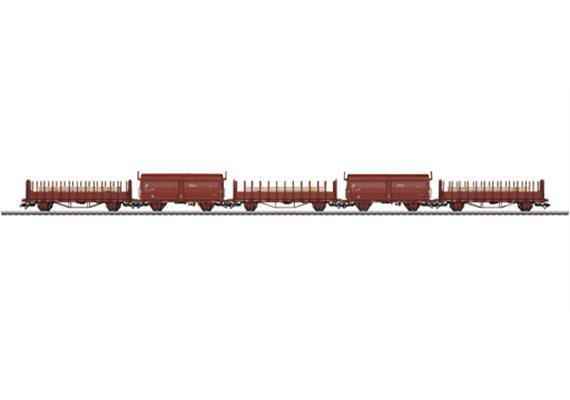 Güterwagen 5er Set SJ