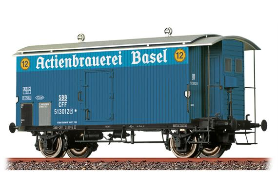 SBB K2 Actienbrauerei Basel