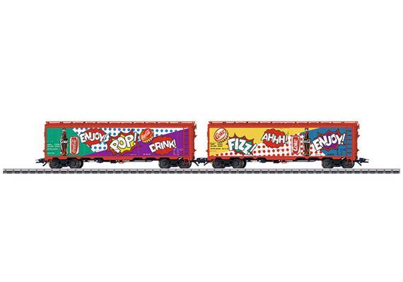 US Kühlwagen Set Coca Cola